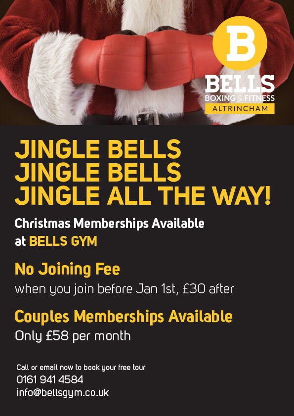 Bells Gym xmas offers