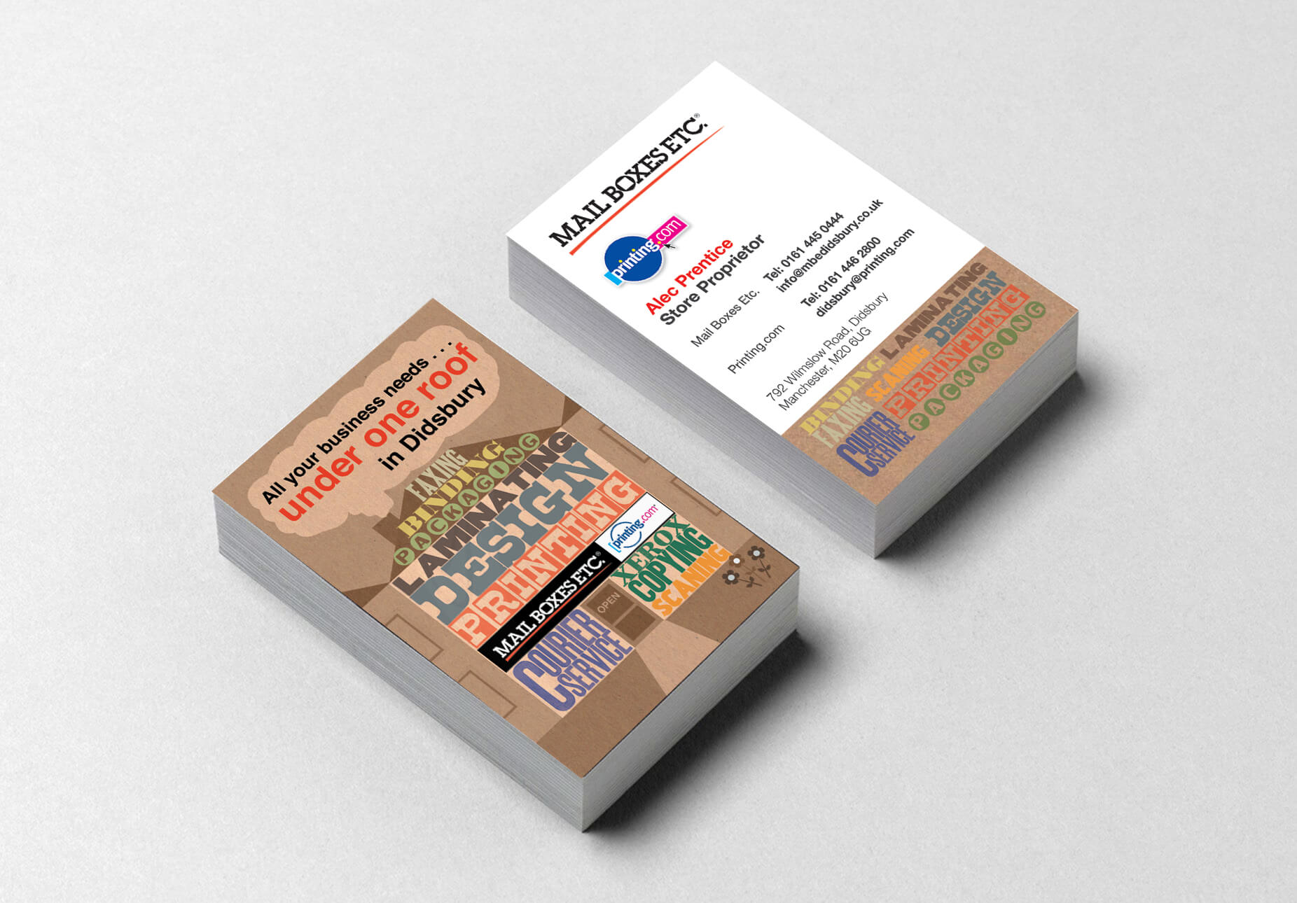 MBE business Cards