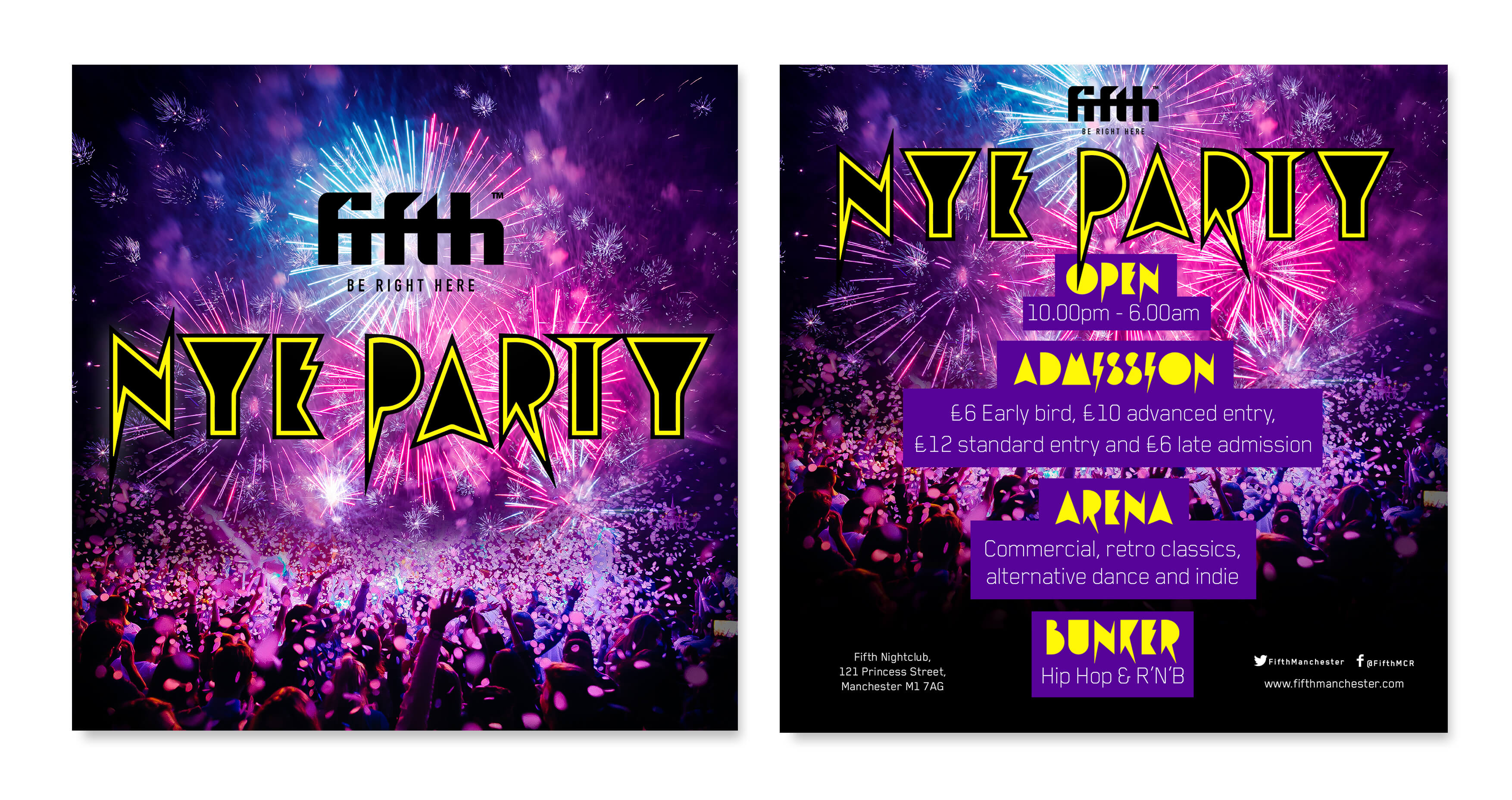 NYE party 2017