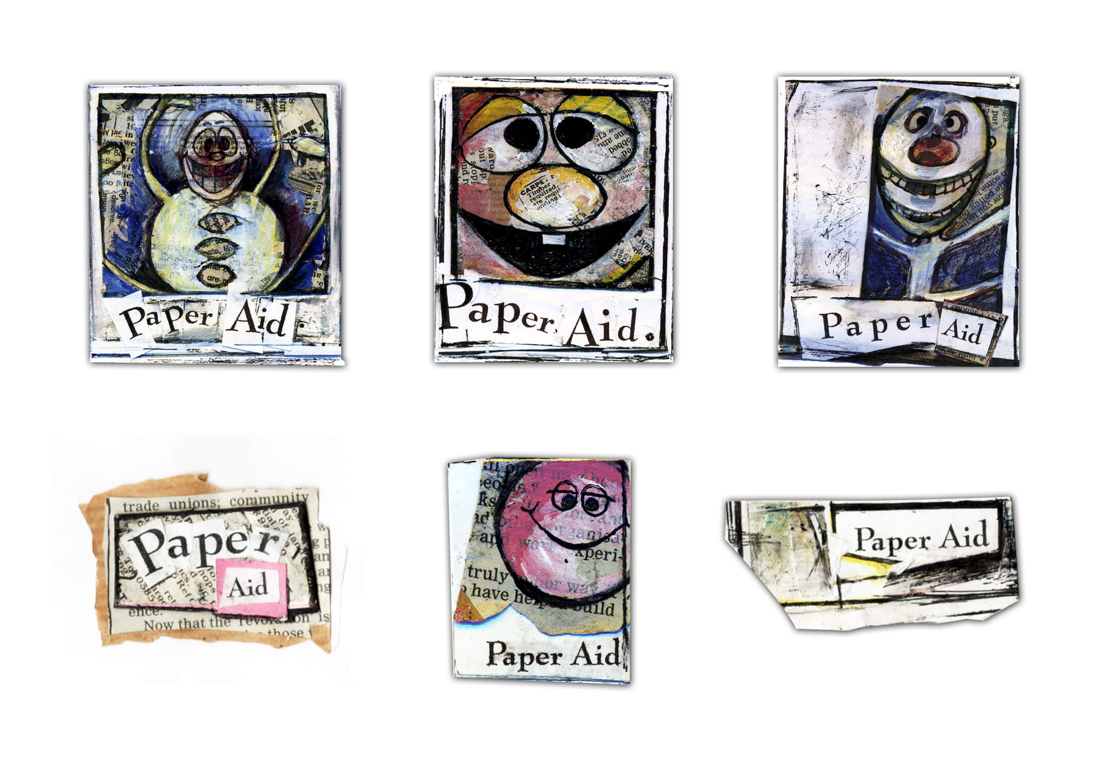 all paper aid logos
