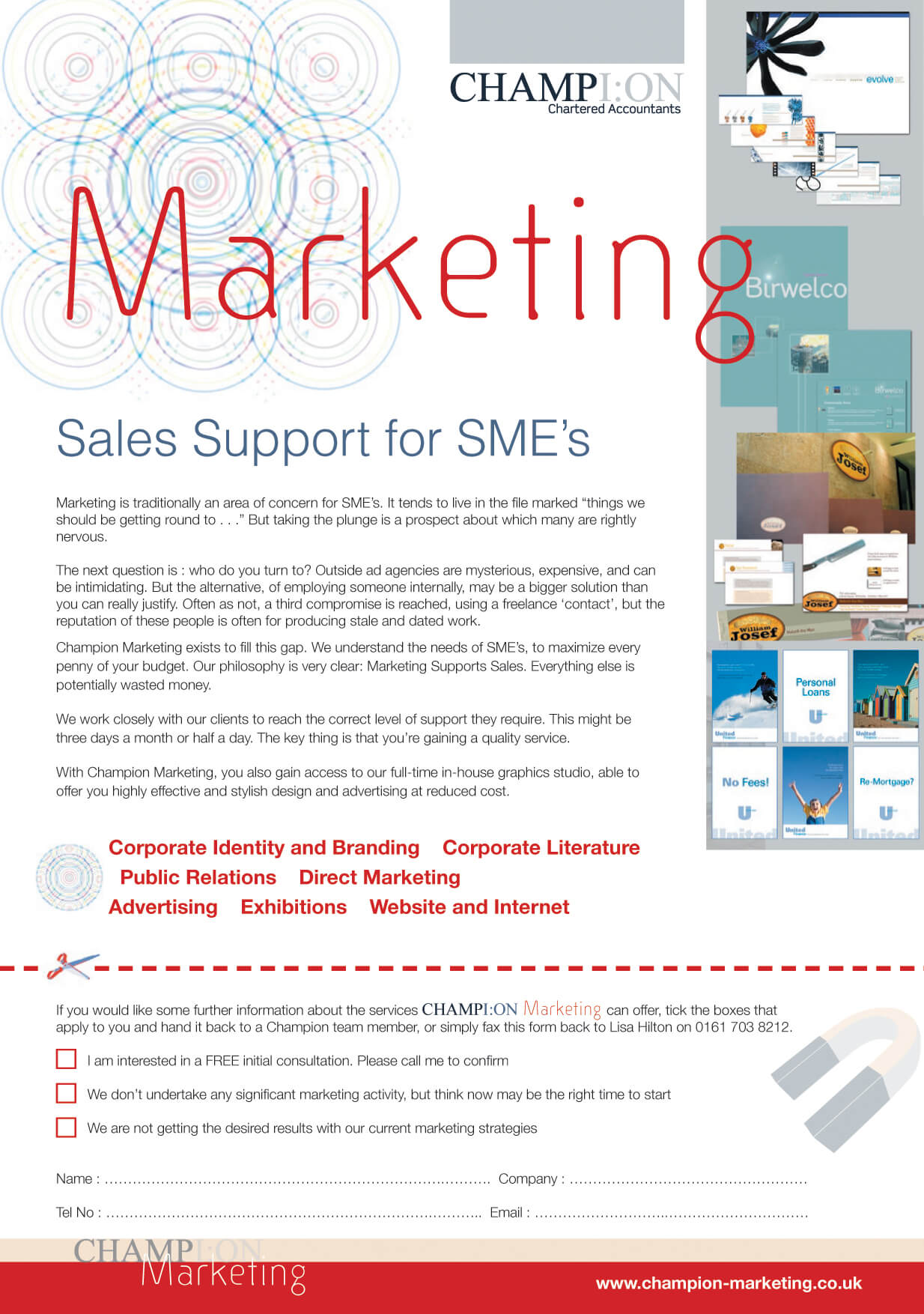 marketing factsheet
