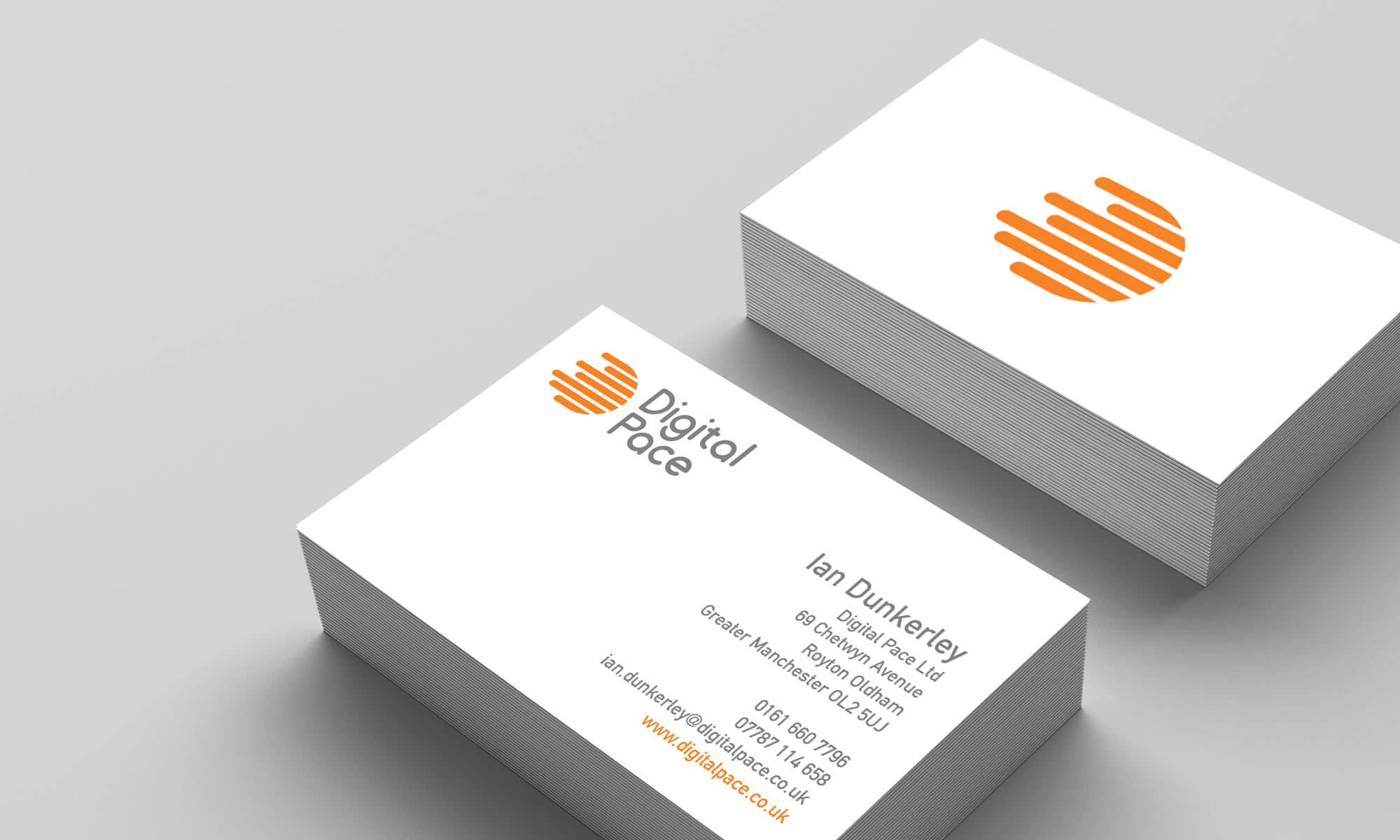 Digital Pace business card