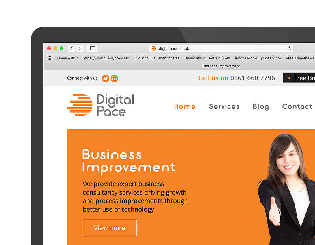 Digital-Pace-website