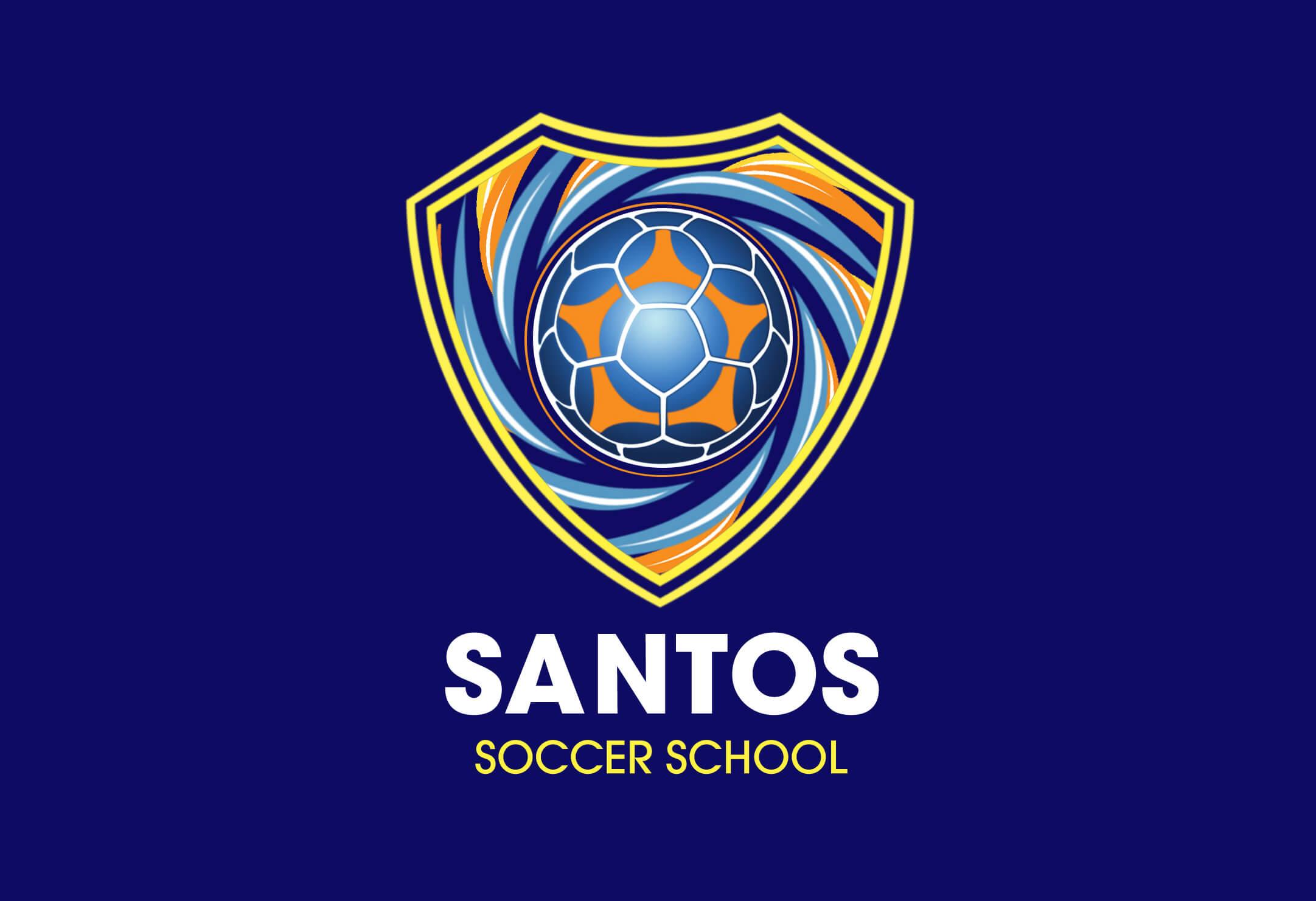Santos Soccor School logo