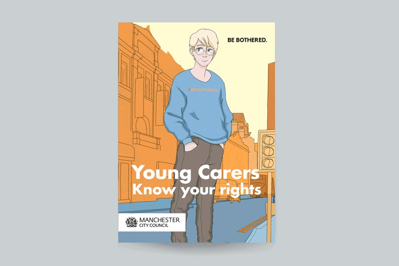 An important public awareness booklet for young carers