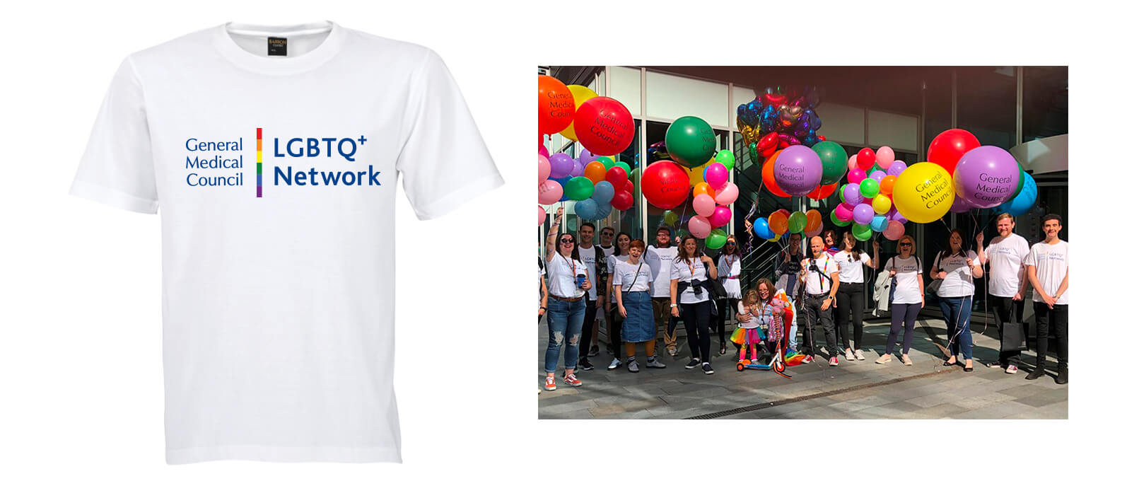 LGBT network tee