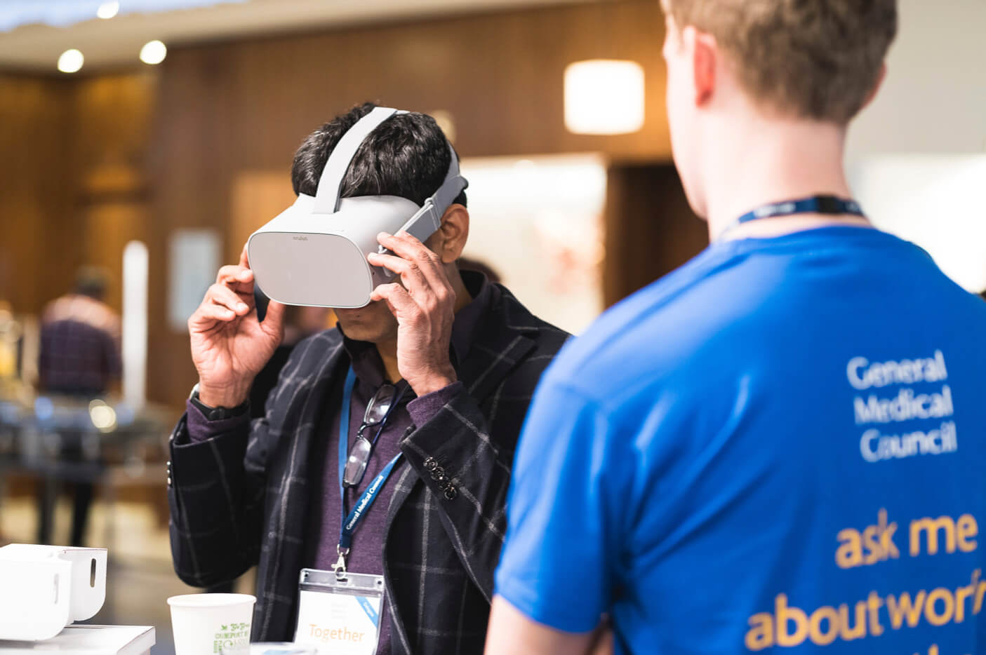VR at conference