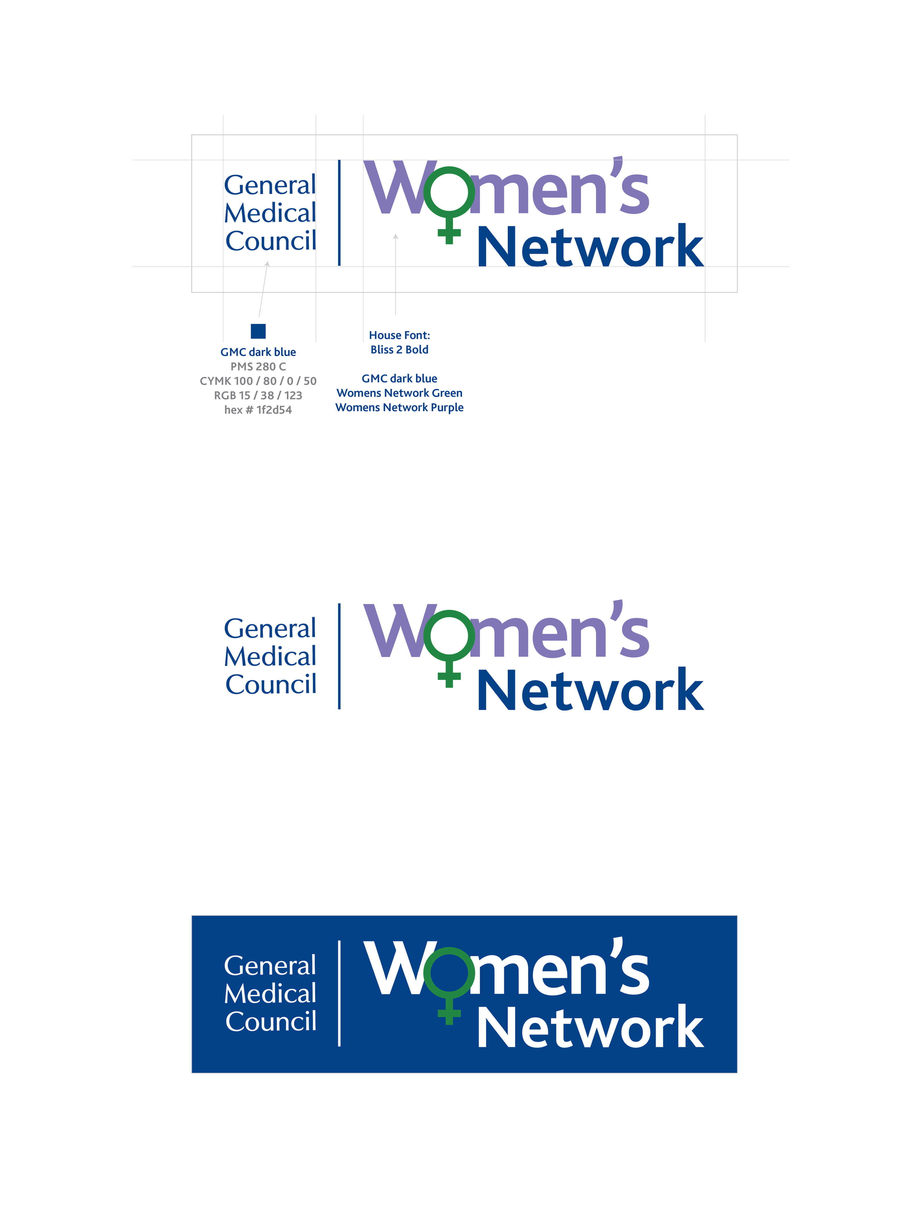 Womens network logos