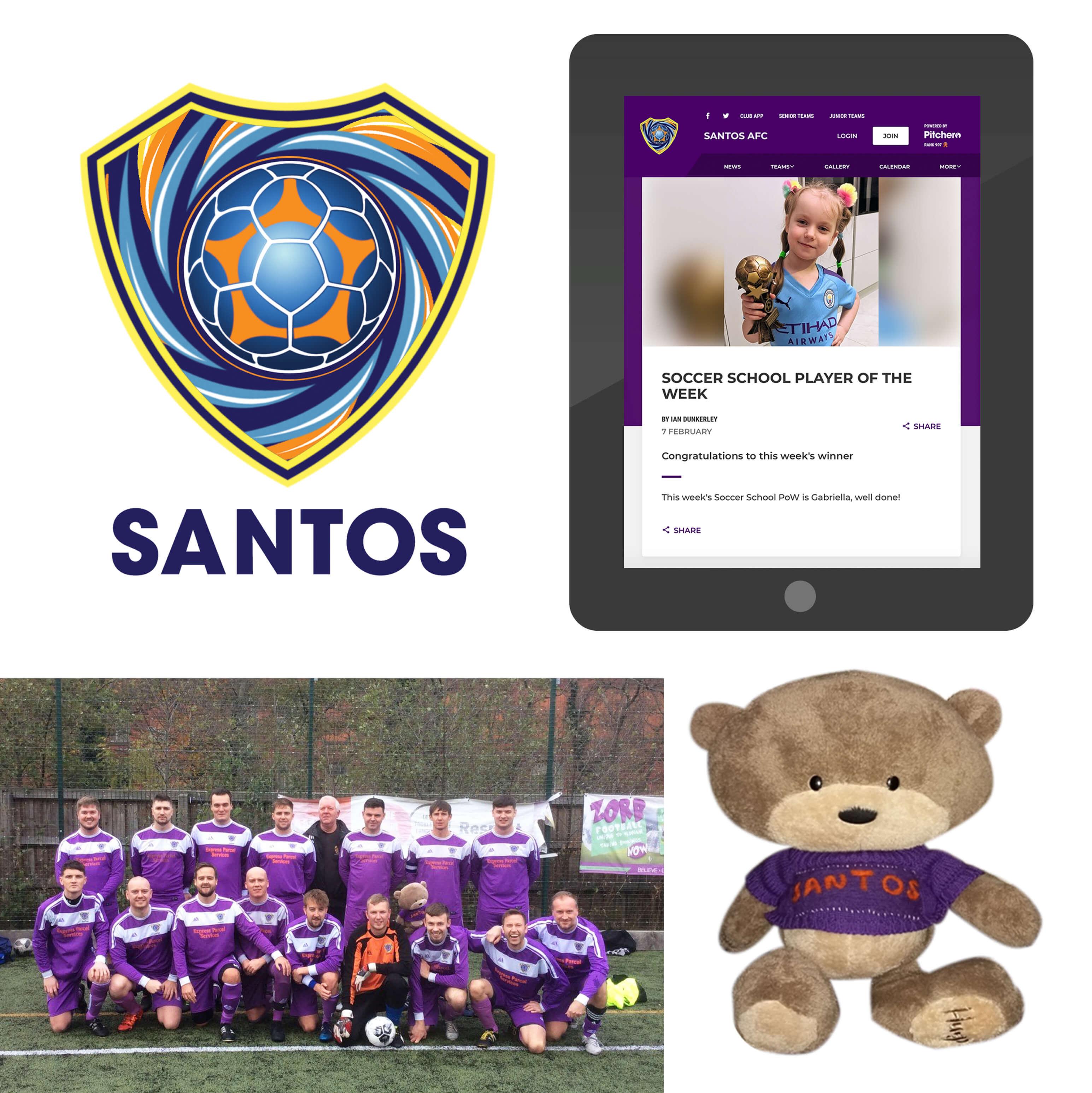 Santos picture board